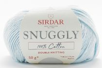 Sirdar Snuggly 100% Cotton DK 50g - 765 Ice Blue